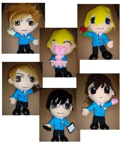 Ouran High School Host Club Plushs Set of 6