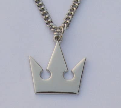Kingdom Hearts Crown Necklace Cosplay Accessory
