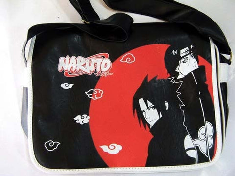 Naruto: Sasuke and Itachi Black & Red Messenger Bag