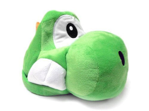 Mario Bro: Super Green Yoshi Plush Costume Hat