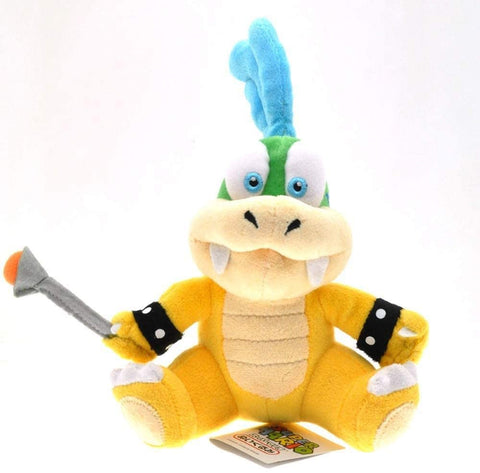 Super Mario Bro: 6-inch Bowser Kid Koopaling Plush - Larry