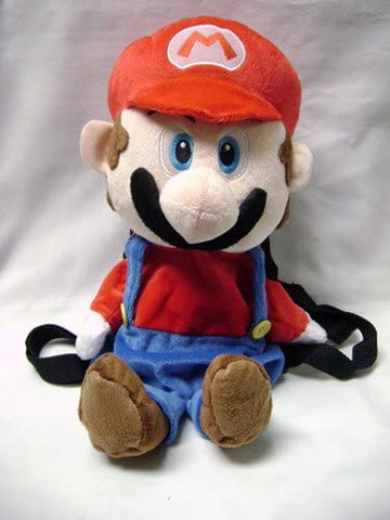 Nintendo Mario Bro: Backpack and Bag - Large Plush Mario