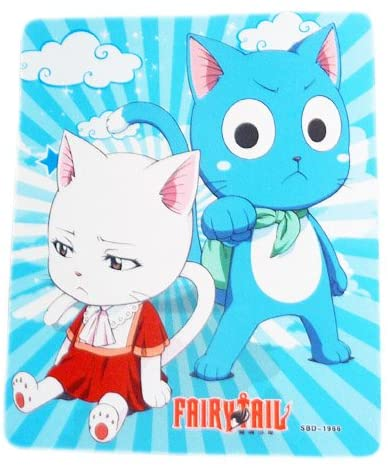Fairy Tail: Exceed Happy & Carla Mousepad
