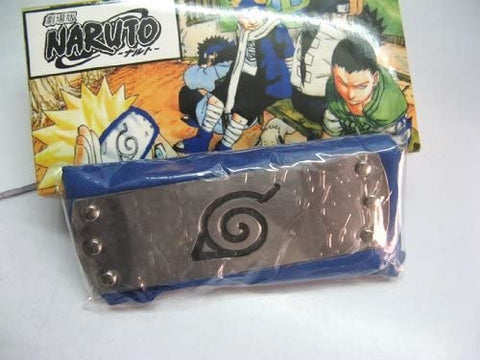 Naruto: Konoha - Leaf Village - Blue Cosplay Headband