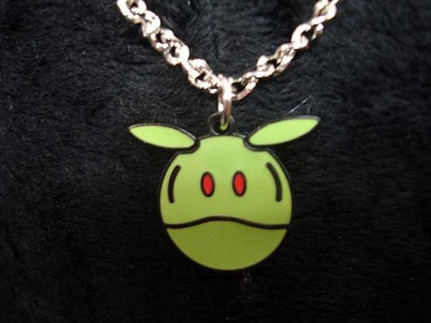 Gundam Seed: Green Haro Necklace