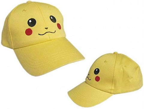 Pokemon: Yellow Adult size Baseball Cap Pikachu Hat