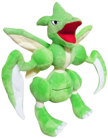 Pokemon: 12-inch Bug Flying Scyther Plush Doll