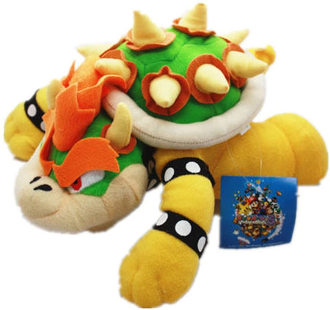 Super Mario Bros King Bowser Koopa Plush stuffed doll Toy 10""
