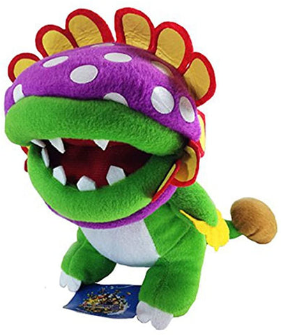 Super Mario Piranha Baby Plush 9""