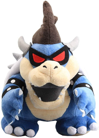 "Super Mario Bros: Dark Blue Bowser King Koopa 12"" Plush"