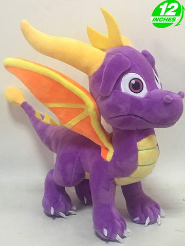 Anime Spyro The Dragon Plush Doll