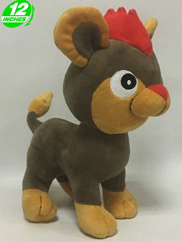 Pokemom: Litleo 12 Inches Plush Doll