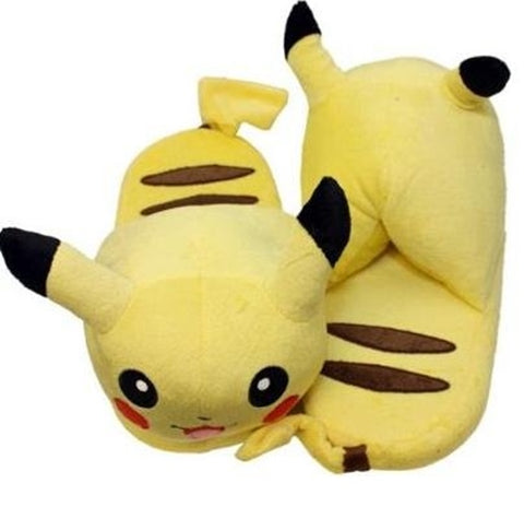 "Pokemon Pikachu Plush Slipper One Size Fits All (Up to 9"" Long)"