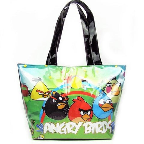 Angry Birds: Bright Green Vinyl Purse Bag