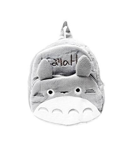 Totoro: 12-inch Soft Youth Backpack - Gray Totoro