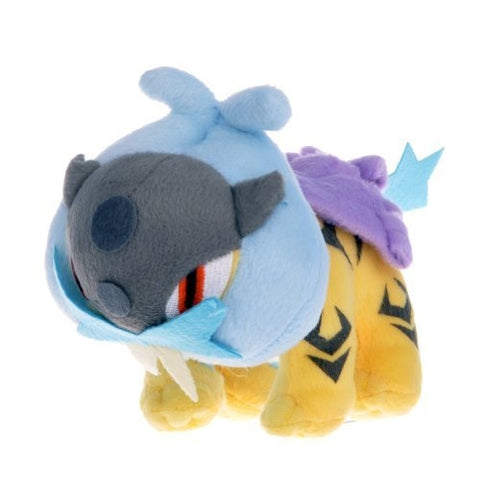 "Pokemon Character 5.5"" Raikou Figure Soft Stuffed Animal Plush Toy"