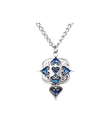Kingdom Hearts: Blue Series Necklace - Heartless & Hearts