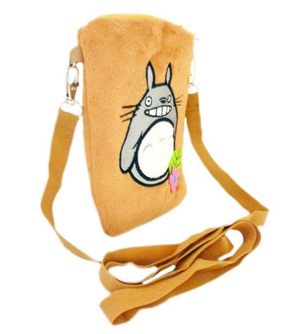 Totoro: Small Plush Travel Purse - Forest Flower Totoro