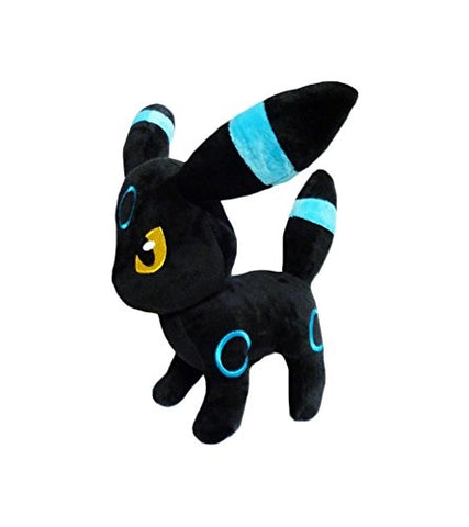 Pokemon: 10-inch Shiny Blue Umbreon Dark Eeveelution Rare Plush Doll