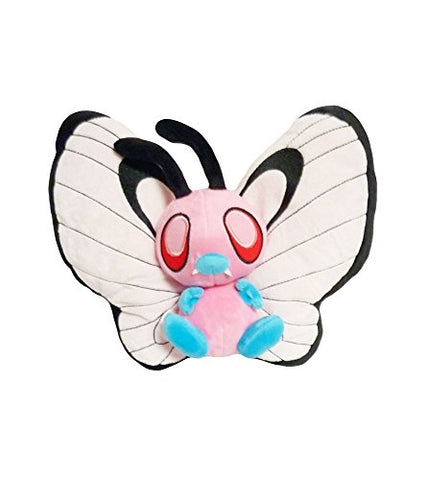 Pokemon: 10-inch Pink Bye Bye Butterfree Plush Toy Doll