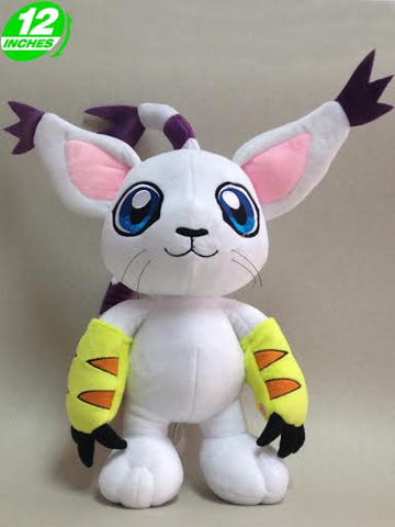 Digimon Adventure Gatomon Tailmon Plush 12""