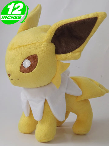 "Pokemon 12"" Eeveelutions Jolteon Plush Doll"