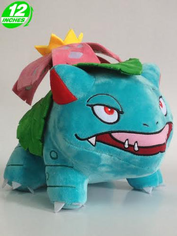 Pokemon: 12-inch Large Venusaur Plush Toy Doll