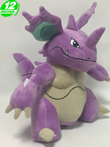 Pokemon Nidoking 12 Inches Plush Doll