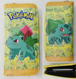 Pokemon: Cute Zipper Clutch Wallet - Bulbasaur