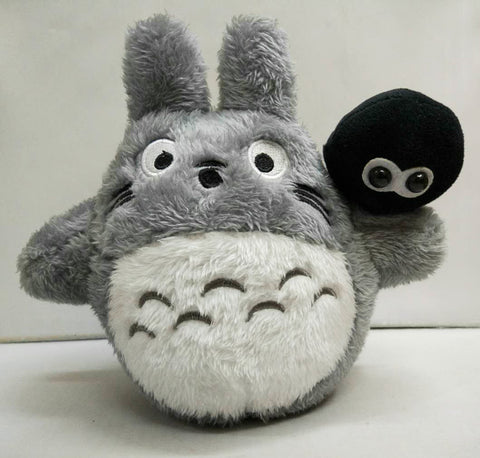 "Totoro 8"" Plush Doll with mini Dust Bunny"