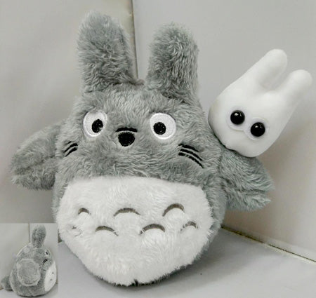 "Totoro 8"" Plush Doll with mini White Bunny"