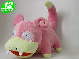Pokemon Slowpoke Plush Doll 12""