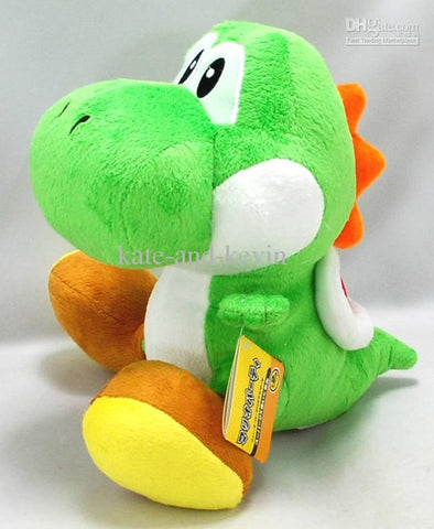 Super Mario Brothers Yoshi Green 10 inches Plush
