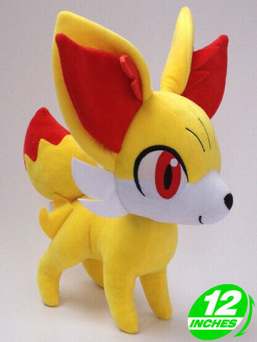 Super Cute Pokemon Fennekin Plush Toy Stuffed Animal 12 inch