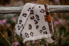 Load image into Gallery viewer, Cozy Leopard Bandana