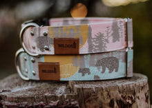 Load image into Gallery viewer, Little Bear Canvas Collar - Mint