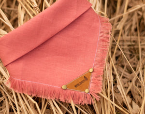 Solid Linen - Rose/Peach