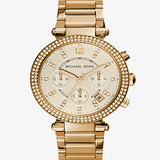 MICHAEL KORS LADIES PARKER CHRONOGRAPH WATCH MK5632
