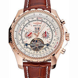 Breitling Bentley Tourbillon White Dial Watch