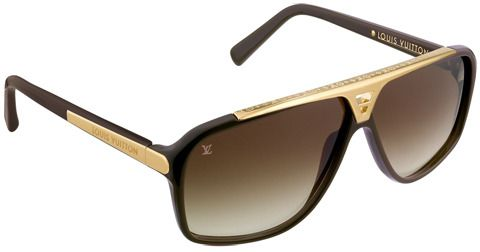 LOUIS VUITTON BROWN EVIDENCE SUNGLASSES