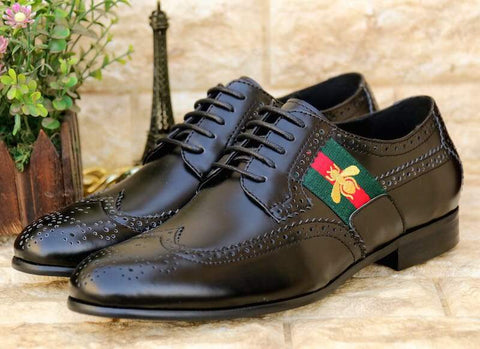 Gucci Black Formal Shoes
