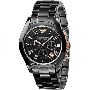 Armani Black Ceramica Watch