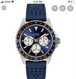 Guess Blue Mens Watch