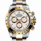 Rolex Cosmograph Daytona Oyster 40 mm Steel and Yellow Gold Watch