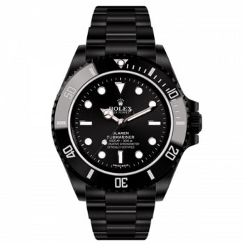 Rolex Submariner Full Black Watch