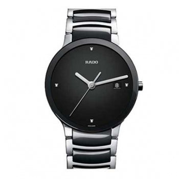 Rado Centrix Jubile Black Silver Watch
