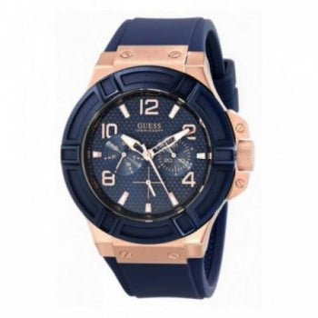 Guess Analog Blue Dial Mens Watch