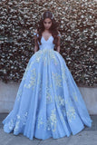 Ball Gown Off The Shoulder Prom Dresses Tulle P6MA78NS
