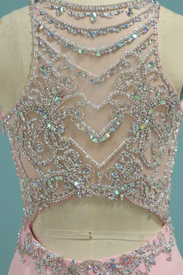 Spandex Scoop Open Back Beaded Bodice PGRZQFD2