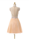 Short Prom Gown Champagne Homecoming Gowns Homecoming Dress